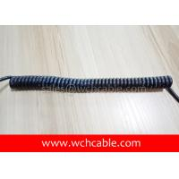 Buy cheap UL Spring Cable, AWM Style UL21723 22AWG 2C FT2 90°C 300V, ETFE / TPE from wholesalers