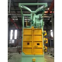 Buy cheap Overhead Rail Hook Shot Blasting Machine High Efficiency For Oil Tank Propane Tank from wholesalers
