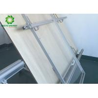 Buy cheap Aluminum Rooftop PV Mounting Systems / Solar Panel Roof Fixing Brackets from wholesalers