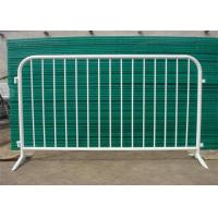 Buy cheap Road block glavnized crowd control barricades for envent 1.1*2.1m size product