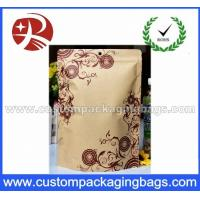 Buy cheap Foil Lined Kraft Paper Bag / Stand Up Kraft Paper Pouches / kraft Paper Food Packaging from wholesalers