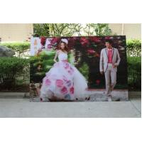Buy cheap 2021 new year wholesale 3d lenticular printing wedding photos with depth 3d moving effects by UV flabed printer product