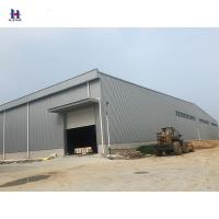 Buy cheap Q235 345 high quality of metal outbuilding light steel structure from wholesalers