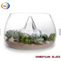 Buy cheap Clear Desktop Round Glass Vases Fish Bowl ,glass terrarium for plant from wholesalers