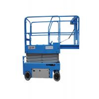 Buy cheap Narrow Body Anti Clamping  Electric Scissor Lift 6m-14m With Emergency Lowering Valve from wholesalers