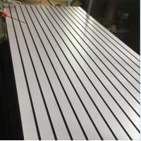Buy cheap Matt Slotted WBP Glue Laminated MDF Board For Wedding House Furniture Decoration from wholesalers