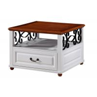 Buy cheap Arabic Stylish Coffee and  End Table Furniture Metal Frame / PVC Veneer from wholesalers