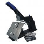 Buy cheap Flat Stapler 60 Sheet Manual Saddle Stapler Black Color Clip Platform Structure from wholesalers