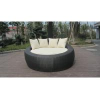 Buy cheap Home / Office Leisure Outdoor Rattan Daybed With White Cushion from wholesalers