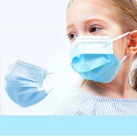 Buy cheap Earloop Disposable Kids Surgical Mask Daily Protection Customized Color from wholesalers