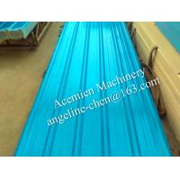 Buy cheap plastic PVC+ASA two layer trapezoid type corrugated roof tiles/roofing sheets/shingles product