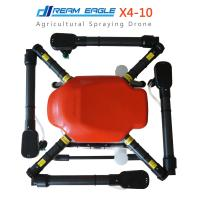 Buy cheap 10KG X4-10 Quadcopter Agricultural Spraying Drone UAV pesticide Crops sprayer waterproof spraying drone from wholesalers