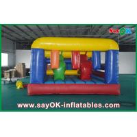 Buy cheap Giant Inflatable Sports Games , Inflatable Barrier Obstacle Course for Kids from wholesalers