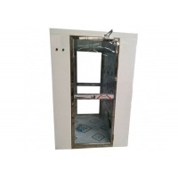Buy cheap Fully Transparent Door Air Shower Tunnel / Air Shower Room With CE Certification product