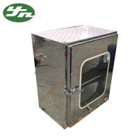 Mirror Surface Cleanroom Pass Box Static Transfer Window 600*600*600mm Internal Size