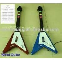 Buy cheap V shape game guitar for PS2 5frets from wholesalers