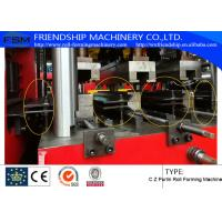 Buy cheap Automatic hydraulic C Z Interchangable Purlin Roll Forming Machine With Pre-Punching and Motor driven from wholesalers