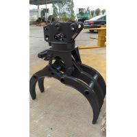 Buy cheap hydraulic grab hydraulic grapple for excavators hydraulic grabber for timber loading from wholesalers
