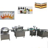 Buy cheap 304 Stainless Steel Automatic Liquid Filling Machine For Essential Oil Bottle from wholesalers