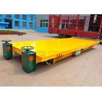 Buy cheap Large container handling wide platform railway transport wagon electric power from wholesalers