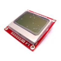 Buy cheap 2.7V / 3.3v / 5v Nokia 5110 LCD liquid crystal display for Arduino Library, MSP430, STM32 from Wholesalers