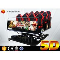 Buy cheap Hydraulic 5d Cinema With Motion Platform 4d Motion Seat 5d Cinema System Movie Equipment from wholesalers