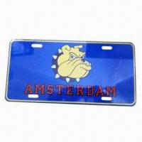 Buy cheap Car license holder, unique design from wholesalers