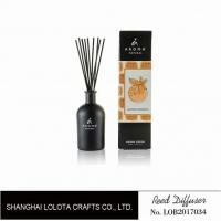 Personalised Glass Home Reed Diffuser With Golden Foil Stamping Folding Box
