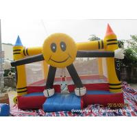Buy cheap Attractive Small Spongebob Inflatable Bouncer Jumper For Rent / Home / Backyard from wholesalers