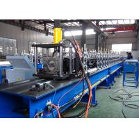Buy cheap Non - Stop Cutting Pallet Rack Roll Forming Machine 1.5 - 2.5mm Thickness Material Usage from wholesalers