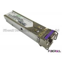 Buy cheap IEC-60825 Compliant1.25Gbps BIDI LC SFP Optical Transceiver Up To 20 Kilometers from wholesalers