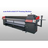 Buy cheap Flex Banner CMYK uv roll to roll printer , flatbed uv digital printer With Ricoh G5 from wholesalers