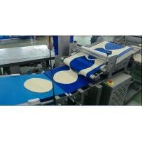 Buy cheap Industrial Frozen Pizza Manufacturing Equipment Minimum Dough Thickness 2.5 Mm For Frozen Pizza Base from wholesalers