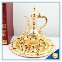 Buy cheap Shinny Gifts New Home Ornament Gift Set Handmade Enamel Metal Craft Decorations Russian Castle Style TXX from wholesalers