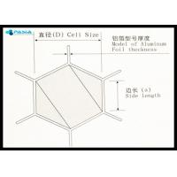 Buy cheap Fire Prevention Polypropylene Honeycomb Core Panels / Sheets Use from wholesalers