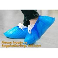 Buy cheap THICK DISPOSABLE,DUST-PROOF,CPE COATED,SMS BOOT COVER,NON WOVEN SHOE COVER,heavy duty polypropylene fabric shoes cover from wholesalers
