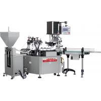 Buy cheap Automatic cosmetic Glass Bottle jar Liquid Filling Machine / Packing Machine/Filling capping machine from wholesalers