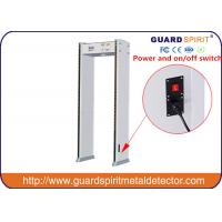 Buy cheap Audible Alarm Metal Detectors For Security Full Body Scanner With 6zones from wholesalers