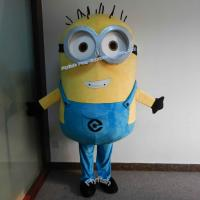 Buy cheap Deluxe despicable me minion mascot costume for adults from wholesalers