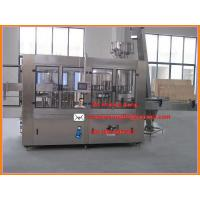 Buy cheap high capacity three in one automatic small bottle filling machine/pure water filling plant from wholesalers