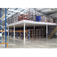 Buy cheap ISO14001 Cold Rolled Steel RMI Shelf Pallet Rack Supported Mezzanine from wholesalers