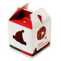Buy cheap Custom art paper decorative individual wedding cake boxes with handle from wholesalers