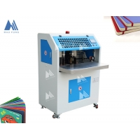 Buy cheap 100mm Height 490*450mm Electric Corner Rounder Hardcover Book Binding Machine from wholesalers