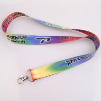 cheap customized polyester lanyard with high quality no minimum order