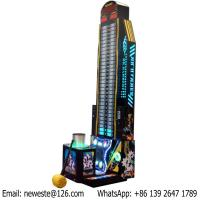 Buy cheap Testing Strength Coin Operated Electronic Hammer Hitting Redemption Tickets Game Machines from wholesalers