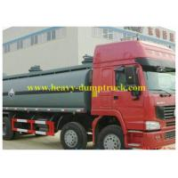 Buy cheap Fuel Tanker Truck Sinotruk howo Chemical Liquid 26500L for Congo from wholesalers