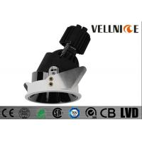Buy cheap White Trim Adjustable G5.3 Halogen Fixture New LED Lights Round QRCB-51 from wholesalers