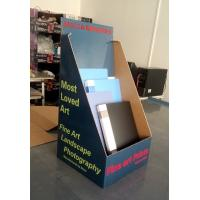 Buy cheap Books cardboard counter display pop storage display box for notebooks from wholesalers