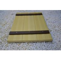 Buy cheap Indoor WPC Composite Wall Cladding , Composite Wood Wall Covering Yellow from wholesalers