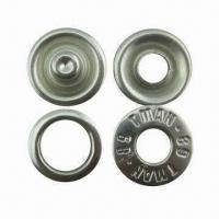 Buy cheap 15mm Prong Snap Button in Copper, Various Designs and Colors are Available product